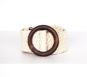 CREAM MELISSA BELT