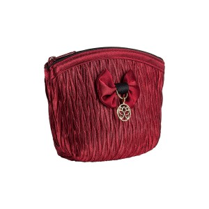 RED SATIN LOLA KEY HOLDER