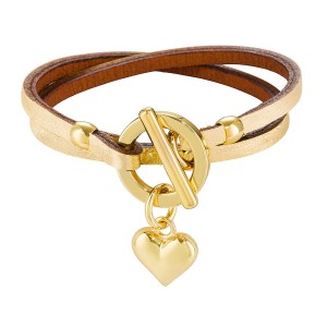 GOLDEN BELLATRIX LEATHER BRACELET