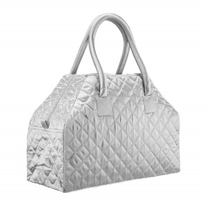 SILVER LUNA WEEKEND BAG