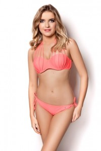 PINK TWO-PIECE LANAI SWIMSUIT